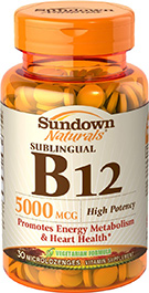 Sublingual B12 5000 mcg 5000 mcg  30 Microlozenges