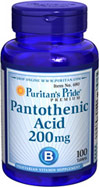 Pantothenic Acid 200 mg