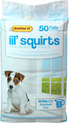 lil' squirts Training Pads for Dogs and Puppies
