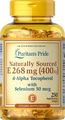 Vitamin E-with Selenium 400 IU/50 mcg Natural