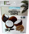 Organic Toasted Coconut Chips Maple Madagascan Vanilla