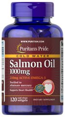 Omega-3 Salmon Oil 1000 mg (210 mg Active Omega-3)