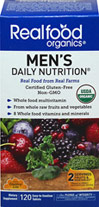Realfood Organics® Men's Daily Nutrition Whole Food Multivitamin