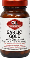 Garlic Gold with Cinnamon