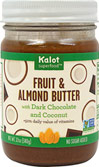 Fruit & Almond Butter w/ Dark Chocolate & Coconut