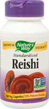 Reishi 188 mg Standardized Extract 10% Polysaccharides