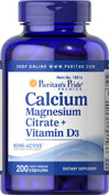 Calcium Magnesium Citrate plus Vitamin D