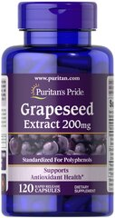 Grapeseed Extract 200 mg  120 Capsules 200 29.99