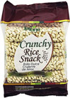Honey & Cinnamon Crunchy Rice Snack - 12 Bags