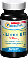 Vitamin B-12 500 mcg Kosher