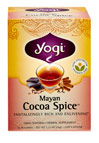 Mayan Cocoa Spice™ Tea <p><b>From the Manufacturer's Label:</b></p> <p>Discover a treasure in our Mayan Cocoa Spice™<p> <p>Embark on a journey to the ancient Mayan temples where prized cocoa beans were ground and mixed with spices to create sacred beverage that symbolized fertility and prosperity. We've taken this combination into the modern era by combining Cocoa Shells, which supply powerful antioxidants, with the traditional Ayurvedic warming and