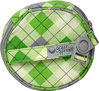 Nursing Pad Bag-Green Argyle
