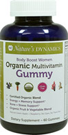 Body Boost Women's Organic Multivitamin