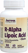 R-Alpha Lipoic Acid 100 mg with Biotin