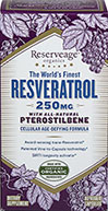 Resveratrol 250 mg with Pterostilbene