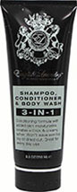 3-in-1 Shampoo, Conditioner & Body Wash