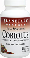 Full Spectrum™ Coriolus (Turkey Tail) Mushroom 1,000 mg