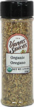 Organic Oregano <strong></strong><p><strong>From the Manufacturer:</strong></p><p>Indispensable to tomato based sauces, Italian, Mexican, and Spanish dishes. Whole leaf oregano for its aroma and mild sweet flavor.<br /></p> 0.75 oz Bottle  $6.99