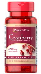 Cranberry Fruit Concentrate Plus Vitamin D3