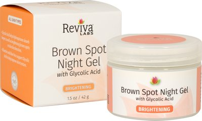 Reviva® Labs Brown Spot Night Gel with Glycolic Acid