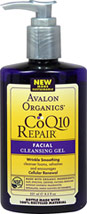 Avalon Co Q-10 Facial Cleansing Gel
