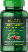 Green Coffee Bean / Green Tea / Raspberry Ketone 1500