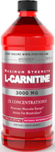 Maximum Strength L-Carnitine 3000 mg Liquid