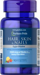 Quick Dissolve Hair Skin Nails