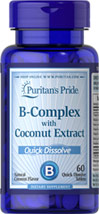 Vitamin B-Complex with Coconut Extract Quick Dissolve