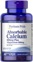 Absorbable Calcium 600 mg plus Magnesium 300 mg