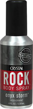 Rock Deodorant Onyx Storm Body Spray