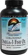 Ultra Potency Omega-3 Fish Oil 850 mg Enteric Coated