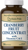 Cranberry Fruit Concentrate 420 mg with Vitamins C & E