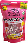 Organic Strawberry Pops