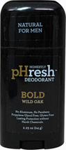 Natural Deodorant for Men Bold Wild Oak