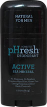 Natural Deodorant for Men Active Sea Mineral