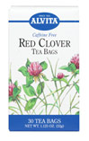 Red Clover Tea <p><b>From the Manufacturer's Label: </p></b>  <p>Caffeine Free</p><p>Among the largest of the various clover species, Red Clover has a celebrated reputation for it's health properties. Red Clover has a delicate flavor that can be brewed and served hot or cold and sweetened with honey. Many enjoy Red Clover tea mixed with Chamomile tea.</p><p>Natural Herb Teas that are good for you and the Environment.</p> 30 Tea