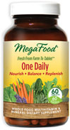 One Daily Whole Food Multivitamin & Mineral Supplement