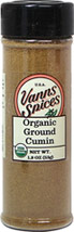 Organic Ground Cumin <b><p> From the Manufacturer:</b></p> Imported from India, this aromatic cumin is important to many cuisines. Ground for your convenience.  1.8 oz Ground  $8.99