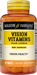 Vision Vitamins Plus Lutein We are proud to bring you Vision Vitamins Plus Lutein. Look to Puritan's Pride for high quality products and great nutrition at the best possible prices. 60 Tablets  $6.59