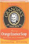 Orange Essence Bar Soap with Olive Oil & Chamomile