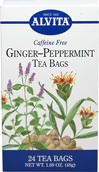 Ginger Peppermint Tea