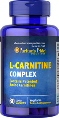 L-Carnitine Complex with GPLC <p>Contains Patented Amino Carnitines</p><p>Vegetarian</p><p>Amino acid Supplement</p> 60 Caplets