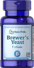 Brewer's Yeast  250 Tablets 1000 mg $8.99