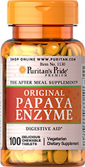 Papaya Enzyme  100 Chewables  $6.99