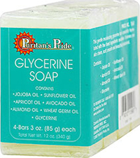Glycerine Soap  3 oz Bars