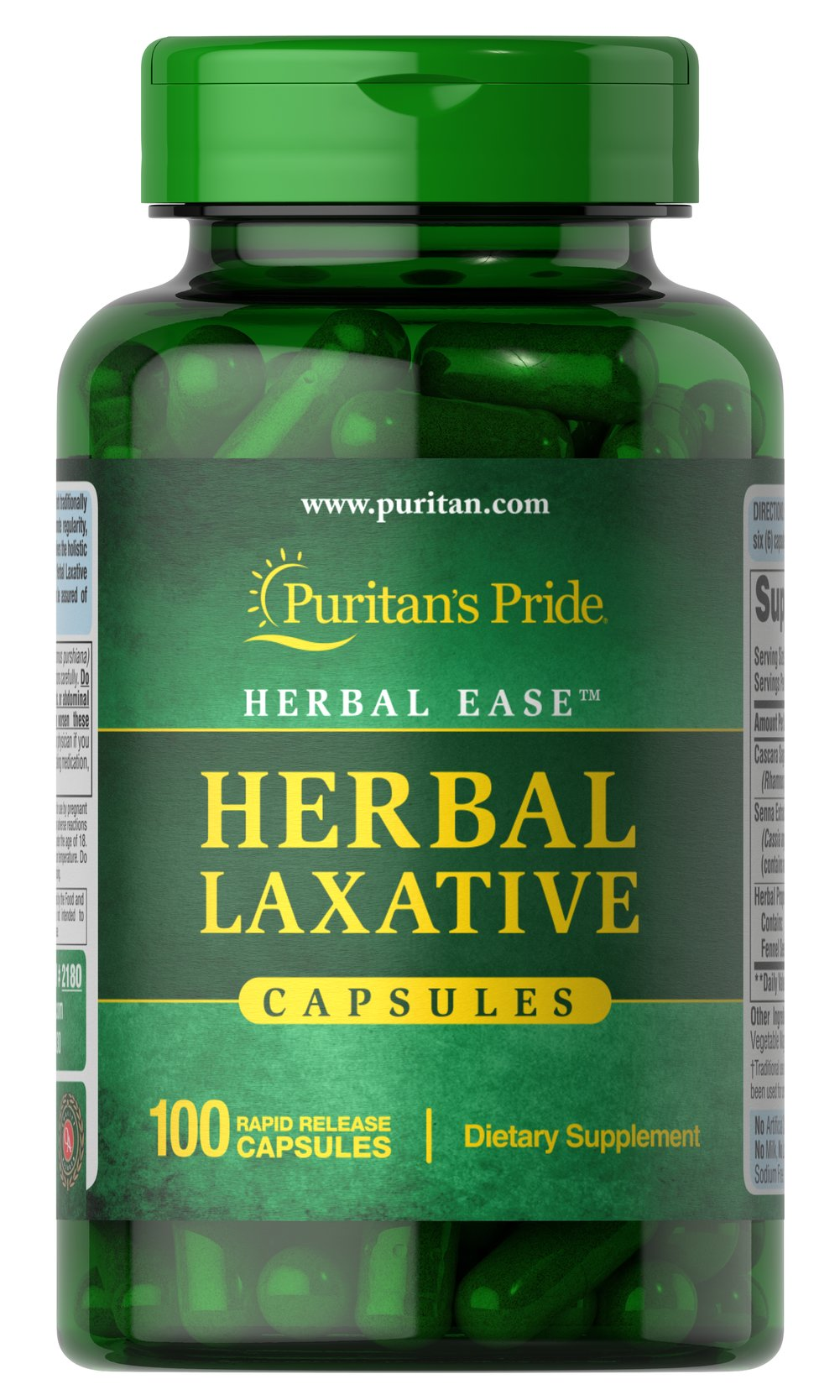 Herbal Laxative <p>Herbal Laxative Tablets is based on traditional use for the relief of occasional constipation.** Our formula brings together holistic properties to help promote regularity.** Herbal Laxative Tablets contain no harsh synthetics, so you can be assured of gentle, yet efficient, cleansing.**</p><p></p><p>Also available in Tablets. See items #30329, 30330 and 30331.</p> 100 Capsules  $11.99