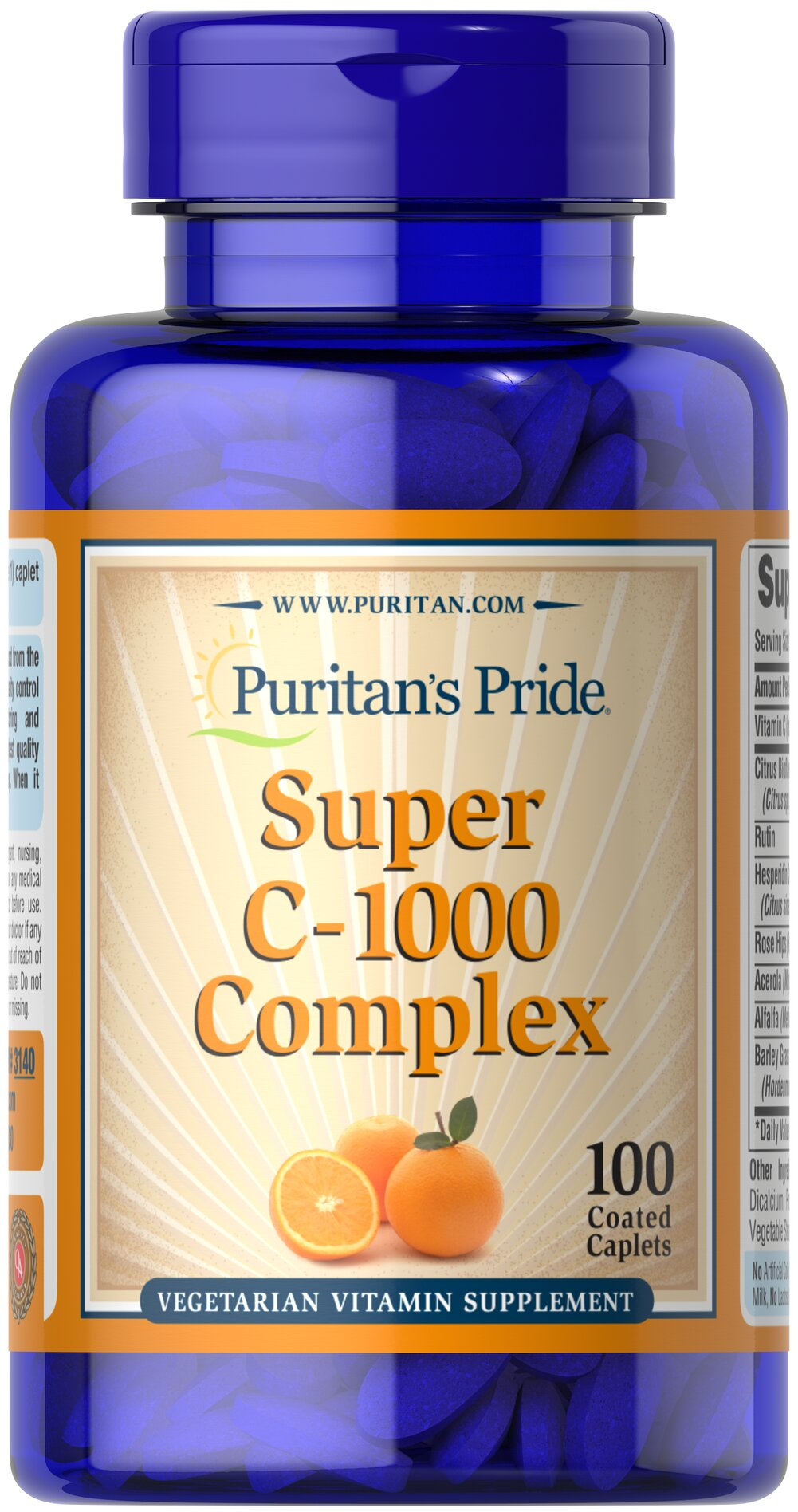 C-1000 Complex™  100 Coated Caplets 1000 mg