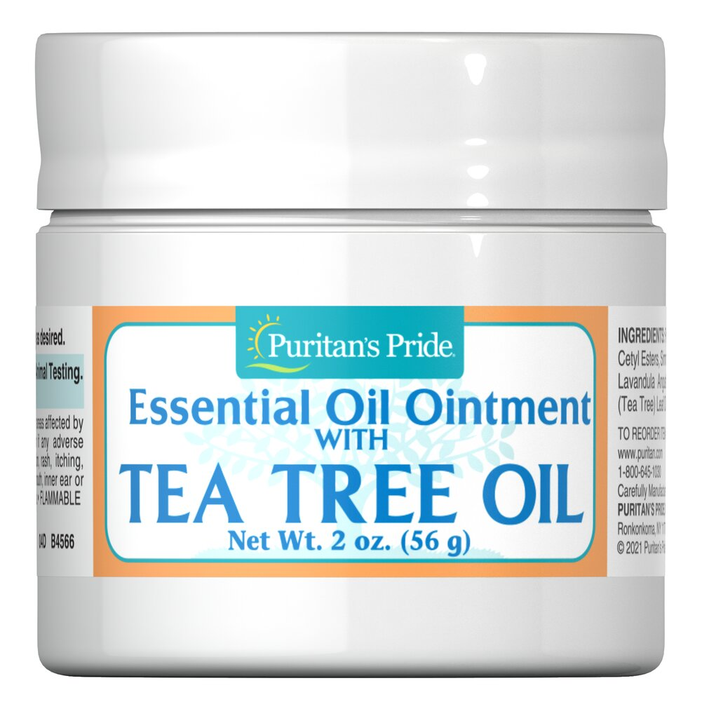 Tea Tree Oil Ointment <p>Tea Tree Oil Ointment is a blend of moisturizing essential oils and tea tree oil - which has been traditionally used as a topical agent for the skin.</p> 2 oz Ointment  $11.29