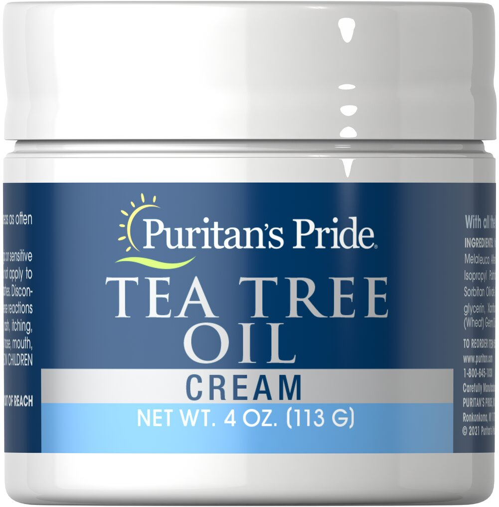 Tea Tree Oil Cream  4 oz Cream  $9.03